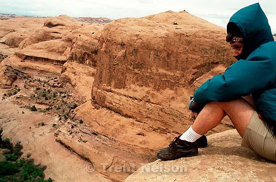 Paul Doerr on the Slickrock Bike Trail.   p&amp;#xA;<br />