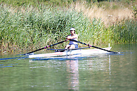 Race: 18  W.1x (Band 2)  Heat 3<br /> <br /> Peterborough Summer Regatta 2018 - Saturday<br /> <br /> To purchase this photo, or to see pricing information for Prints and Downloads, click the blue 'Add to Cart' button at the top-right of the page.
