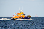 RNLI Lifeboat 17-38 SAR at Rosemarkie Bay, Moray Firth. Callsign: VQDK4<br /> <br /> The vessel has 17m length overall and beam of 5m. <br /> <br /> <br /> Image by: Malcolm McCurrach<br /> Sat, 10, September, 2016 |  &copy; Malcolm McCurrach 2016 |  New Wave Images UK | Insertion and use fees apply |  All rights Reserved. picturedesk@nwimages.co.uk | www.nwimages.co.uk | 07743 719366 <br /> <br /> | Press Photographer | Corporate Photographer | Event Photographer | PR Photographer