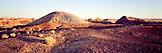 USA, Arizona, Petrified Forest National Park, Painted Desert landscape