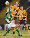 22/01/2011   Copyright  Pic : James Stewart.sct_jsp022_motherwell_v_hibernian  .:: JONATHAN PAGE IS CHALLENGED BY IAN MURRAY  ::.James Stewart Photography 19 Carronlea Drive, Falkirk. FK2 8DN      Vat Reg No. 607 6932 25.Telephone      : +44 (0)1324 570291 .Mobile              : +44 (0)7721 416997.E-mail  :  jim@jspa.co.uk.If you require further information then contact Jim Stewart on any of the numbers above.........