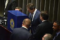 BRASÍLIA, DF, 01.02.2017 – PRESIDÊNCIA-SENADO – Votação para presidência do Senado, nesta quarta-feira, 01.(Foto: Ricardo Botelho/Brazil Photo Press)