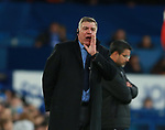 Sam Allardyce manager of Everton shouts instructions during the premier league match at the Goodison Park Stadium, Liverpool. Picture date 2nd December 2017. Picture credit should read: Simon Bellis/Sportimage