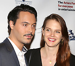 Jack Huston & Guest  attending the 2013 Actors Fund Annual Gala at the Mariott Marquis Hotel in New York on 4/29/2013...