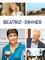 Beatriz at Dinner (2017) <br /> Promotional art with Salma Hayek, John Lithgow &amp; Connie Britton<br /> *Filmstill - Editorial Use Only*<br /> CAP/MFS<br /> Image supplied by Capital Pictures