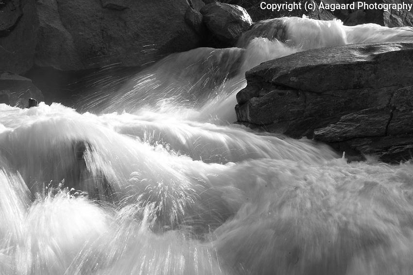 Spring runoff, Roaring Fork River, near Aspen