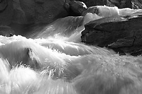 Spring runoff, Roaring Fork River, near Aspen