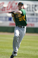 February 21, 2010:  Outfielder Andy Carucci (26) of the Siena Saints during a game at Melching Field at Conrad Park in DeLand, FL.  Siena lost to Stetson by the score of 8-7.  Photo By Mike Janes/Four Seam Images