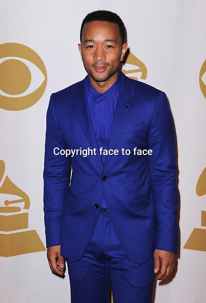 LOS ANGELES, CA - JANUARY 27:  John Legend arrives at &quot;The Night That Changed America: A Grammy Salute to The Beatles&quot; at the Los Angeles Convention Center West Hall on January 27, 2014 in Los Angeles, California. <br /> Credit: MediaPunch/face to face<br /> - Germany, Austria, Switzerland, Eastern Europe, Australia, UK, USA, Taiwan, Singapore, China, Malaysia, Thailand, Sweden, Estonia, Latvia and Lithuania rights only -