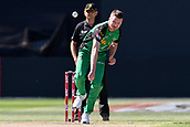 10th February 2019, Melbourne Cricket Ground, Melbourne, Australia; Australian Big Bash Cricket, Melbourne Stars versus Sydney Sixers;  Jackson Bird of the Melbourne Stars bowls