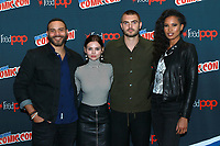 NEW YORK, NY - OCTOBER 7: Ian Verdun, Eline Powell, Alex Roe, and Fola Evans-Akingbola at Freeform's Siren at New York Comic Con on October 7, 2017 in New York City.   <br /> CAP/MPI/DC<br /> &copy;DC/MPI/Capital Pictures
