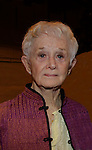 "Love of Live Barbara Barrie stars in ""I Remember Mama"" and photos were taken on the last day of the play on April 20, 2014 at The Gym at Judson, New York City, New York. Show was presented by The Transport Group Theatre Company.  (Photo by Sue Coflin/Max Photos)"
