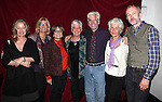 Director Steve Bakunas and his Family with Playwright Owen Dunne at The Red Barn Studio Theatre Off-Broadway production of 'Positions' at the Roy Arias Studio Theatre on October 10, 2012 in New York City.