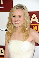 Alison Pill at Film Independent's 2012 Los Angeles Film Festival Premiere of 'To Rome With Love' at Regal Cinemas L.A. LIVE Stadium 14 on June 14, 2012 in Los Angeles, California. © mpi35/MediaPunch Inc. /NORTEPHOTO.COM<br />