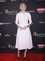 06 January 2018 - Beverly Hills, California - Greta Gerwig. 2018 BAFTA Tea Party held at The Four Seasons Los Angeles at Beverly Hills in Beverly Hills. <br /> CAP/ADM/BT<br /> &copy;BT/ADM/Capital Pictures