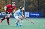 ZEIST- Gijs van Daalen Buissant des Amorie (Hurley)  met Floris Molenaar (Schaerweijde)   promotieklasse hockey heren, Schaerweijde-Hurley (4-0)  COPYRIGHT KOEN SUYK