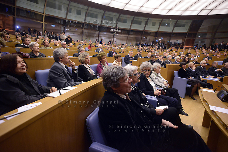 Roma, 31 Marzo 2015<br /> La famiglia di Pietro Ingrao<br /> Camera dei Deputati<br /> Convegno &quot;Perche la politica&quot; in occasione dei 100 anni di Pietro Ingrao.