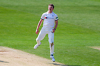 Picture by Alex Whitehead/SWpix.com - 21/04/2018 - Cricket - Specsavers County Championship Div One - Yorkshire v Nottinghamshire, Day 2 - Emerald Headingley Stadium, Leeds, England - Yorkshire's Josh Shaw reacts.