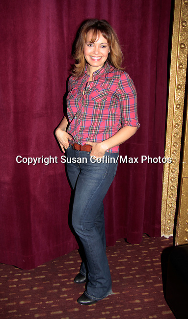 As The World Turns Lauren B. Martin - 11th Annual Daytime Stars & Strikes Event for Autism - 2015 on April 19, 2015 hosted by Guiding Light's Jerry ver Dorn (& OLTL) and Liz Keifer at Bowlmor Lanes Times Square, New York City, New York. (Photos by Sue Coflin/Max Photos)