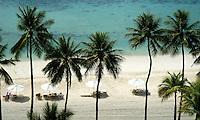 AERIAL PALAU BEACH, MICRONESIA