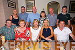 Sinead Hickey from Cordal, Castleisland celebrating her 40th Birthday with family at Bella Bia's on Saturday.  Front left to right, Matt Keane, Nora Keane, Maeve O'Connor, Sinead Hickey, Tom O'Connor.  Back left to right, Eimear Kelleher, James Kelleher, Keith McCarthy, Orla Keane, Mike Egan, Cian O'Connor
