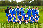 The Ballyhar team that played Mastergeeeha in the u16 league on Saturday