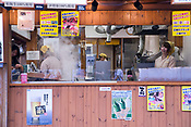 A snack shop in the Ise tourist town, near to the Ise Shrine.