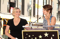 Kate Winslet, Shailene Woodley<br /> at the Kate Winslet Star on the Hollywood Walk of Fame, Hollywood, CA 03-17-14<br /> David Edwards/DailyCeleb.Com 818-249-4998
