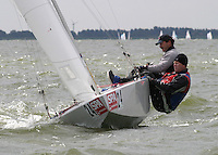 20th SPA Regatta - Medemblik.26-30 May 2004..Copyright free image for editorial use. Please credit Peter Bentley..Paul Cayard - USA