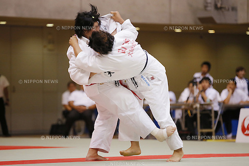 Sara Asahina, September 14, 2014 - Judo : All Japan Junior Judo Championships Women's +78kg Final at Saitama Prefectural Budokan, Saitama, Japan. (Photo by Yusuke Nakanishi/AFLO SPORT) [1090]