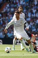 Real Madrid's Sergio Ramos during La Liga Match. September 01, 2013. (ALTERPHOTOS/Caro Marin) <br /> Football Calcio 2013/2014<br /> La Liga Spagna<br /> Foto Alterphotos / Insidefoto <br /> ITALY ONLY