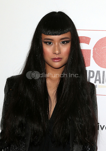 Los Angeles, CA - NOVEMBER 05: Asia Chow at The 10th Annual GO Campaign Gala in Los Angeles At Manuela, California on November 05, 2016. Credit: Faye Sadou/MediaPunch