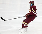 Austin Cangelosi (BC - 9) - The Harvard University Crimson defeated the visiting Boston College Eagles 5-2 on Friday, November 18, 2016, at the Bright-Landry Hockey Center in Boston, Massachusetts.