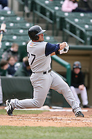 April 15th, 2007:  Ryan Smith of the Charlotte Knights, Class-AAA affiliate of the Chicago White Sox, during a game at Frontier Field in Rochester, NY.  Photo by:  Mike Janes/Four Seam Images