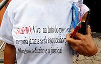 """BELEM , PA , 24.10.2013 - JULGAMENTO ASSASSINATO SINDICALISTA - Julgamento dos  acusados de envolvimento no  assassinato do sindicalista José Dutra da Costa, o """"Dezinho"""", assassinado em Rondon do Pará (PA) em 21 de novembro de 2000. O julgamento teve início  na manhã desta quinta -feira (24), no Fórum Criminal em Belém do Pará.<br /> Foto: Lucivaldo Sena / Brazil Photo Press"""