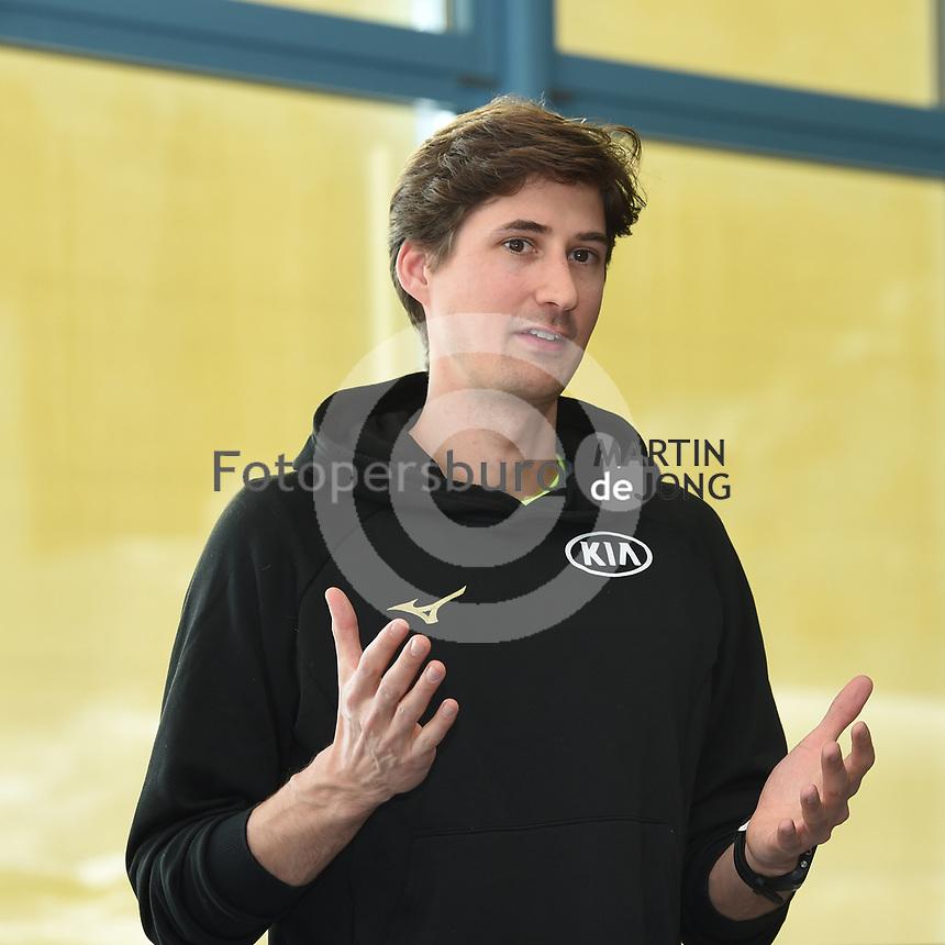 SPEEDSKATING: INZELL: Max Aicher Arena, 06-02-2019, ISU World Single Distances Speed Skating Championships, Daan Rottier (DESG-Coach), ©photo Martin de Jong