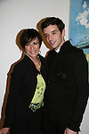 As The World Turns' Colleen Zenk Pinter and Michael Urie at the opening night of John Tartaglia's Imaginocean, a new family undersea musical adventure on March 31, 2010 at New World Stages, New York City, New York. John Tartaglia's ImaginOcean is an interactive family show - a magical, musical undersea adventure for kids of all ages. Tank, Bubbles, and Dorsel are three best friends who just happen to be fish, and they're about to set out on a remarkable journey of discovery. And it all starts with a treasure map. As they swim off in search of clues, they'll sing, they'll dance, and they'll make new friends -- including everyone in the audience. Ultimately, they discover the greatest treasure of all -- friendship. Jam-packed with original music ranging from swing to R&B to Big Band, John Tartaglia's ImaginOcean is a blast rom the first big splash to the last wave goodbye. (Photo by Sue Coflin/Max Photos)