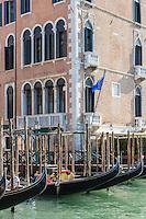 Italie, Vénétie, Venise:   L'hôtel The Gritti Palace  dans le Palais Gritti Dandolo  palais dans le sestiere de Cannaregio, sur le Grand Canal. // Italy, Veneto, Venice:
