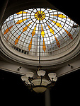 The Skylight Above The Main Entrance Hall.