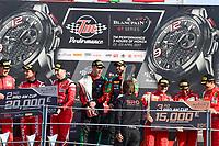 #97 OMAN RACING TEAM WITH TF SPORT (OMN) ASTON MARTIN V12 GT3 AHMAD AL HARTHY (OMN) JONNY ADAM (GBR) WINNER OF PRO AM CUP #888 KESSEL RACING (CHE) FERRARI 488 GT3 JACQUES DUYVIER (BEL) MARCO ZANUTTINI (ITA) DAVID PEREL (ZAF) SECOND IN AM CUP #53 SPIRIT OF RACE (CHE) FERRARI 488 GT3 NIEK HOMMERSON (NDL) LOUIS MACHIELS (BEL) ANDREA BERTOLINI (ITA) THIRD IN PRO AM CUP
