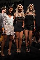 S&Atilde;O PAULO-SP-03.03.2015 - INVERNO 2015/MEGA FASHION WEEK -Yanna Lavigne;Fernanda Lacerda e Tatiele Polyana/<br /> O Shopping Mega Polo Moda inicia a 18&deg; edi&ccedil;&atilde;o do Mega Fashion Week, (02,03 e 04 de Mar&ccedil;o) com as principais tend&ecirc;ncias do outono/inverno 2015.Com 1400 looks das 300 marcas presentes no shopping de atacado.Br&aacute;z-Regi&atilde;o central da cidade de S&atilde;o Paulo na manh&atilde; dessa segunda-feira,02.(Foto:Kevin David/Brazil Photo Press)