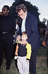John Heard and son during Party For Motion Picture And Television Producers on June 22, 1992 at Gracie Mansion in New York City.