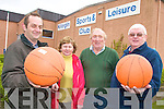 SPORTS: Staff of Killorglin Sports and Leisure Centre announcing details of sports and activities at the centre for the New Year, l-r: James Houlihan, Kathleen Murphy, Patrick Dennehy and Myles O'Brien.