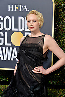 Gwendoline Christie at the 75th Annual Golden Globe Awards at the Beverly Hilton Hotel, Beverly Hills, USA 07 Jan. 2018<br /> Picture: Paul Smith/Featureflash/SilverHub 0208 004 5359 sales@silverhubmedia.com