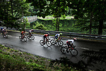 The breakaway during Stage 6 of the 2019 Tour de France running 160.5km from Mulhouse to La Planche des Belles Filles, France. 11th July 2019.<br /> Picture: ASO/Pauline Ballet | Cyclefile<br /> All photos usage must carry mandatory copyright credit (© Cyclefile | ASO/Pauline Ballet)