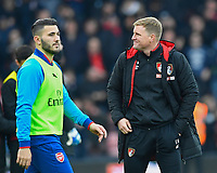AFC Bournemouth Manager Eddie Howe looks towards the directors box at the final whistle during AFC Bournemouth vs Arsenal, Premier League Football at the Vitality Stadium on 14th January 2018