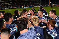 25th July 2020, Christchurch, New Zealand;  Hurricanes celebrates winning the Super Rugby Aotearoa, Crusaders versus Hurricanes at Orangetheory stadium, Christchurch