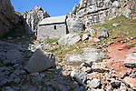 St Govan's Chapel, Pembrokeshire coast national park, Wales named after a sixth century hermit who once lived here.