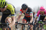 Greg Van Avermaet (BEL) BMC Racing Team on the pave during the 116th edition of Paris-Roubaix 2018. 8th April 2018.<br /> Picture: ASO/Pauline Ballet | Cyclefile<br /> <br /> <br /> All photos usage must carry mandatory copyright credit (&copy; Cyclefile | ASO/Pauline Ballet)