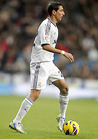 Real Madrid's Angel Di Maria during La Liga match. December 16, 2012. (ALTERPHOTOS/Alvaro Hernandez)